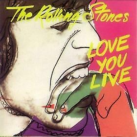"2CD THE ROLLING STONES ""LOVE YOU LIVE"". Nuevo y precintado"