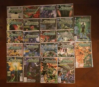 DC Comics Green Lantern New 52  #0 1-22 Comic Book Lot
