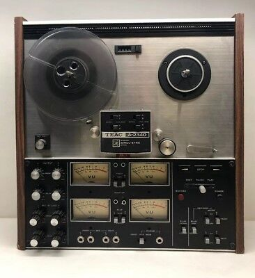 Vintage TEAC A-2340 SIMUL-Sync REEL TO REEL 4 CHANNEL Japan