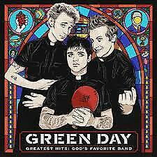 "CD GREEN DAY ""GREATEST HITS GODS FAVORITE BAND"". New and sealed"