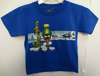 Marvin The Martian Youth Size 7 Shirt Vintage Space Jam Looney Tunes K-9 K9 K 9