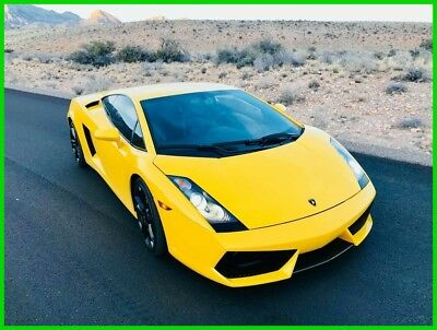 2004 Lamborghini Gallardo  2004 Lamborghini Gallardo / Rare Gated 6 speed manual / Giallo Halys Yellow*
