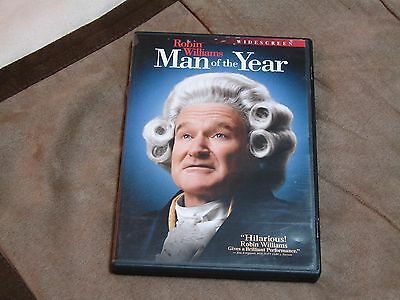 Man of the Year - Robin Williams - DVD