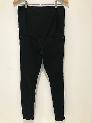 Womens Black Maternity Jeans Size 12