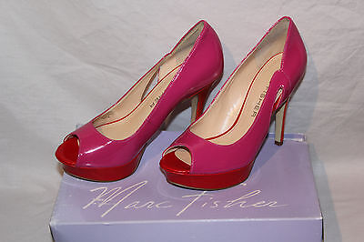 a9506581314 Marc Fisher Tumble 7 Womens Size 8 Pink Platforms Heels Shoes Pumps  New Display