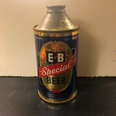 E and B Special Beer cone top IRTP