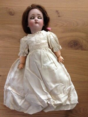 RARE antique porcelain doll - Dressel by Simon & Halbig