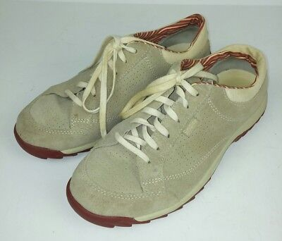 4ce15b7329ae9f Simple Women s Size 8.5 Shoes Brown Suede Lace Up Retro Style Comfort  Walking