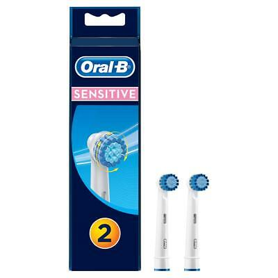 Oral-B Sensitive Replacement Electric Toothbrush Heads Refills Extra Soft 2 Pack