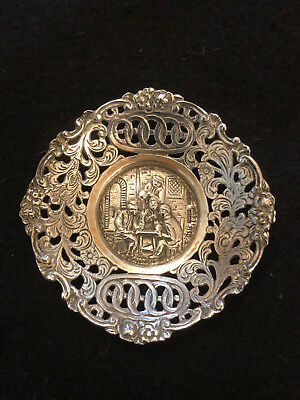 Antique Dutch 830 Silver Dish