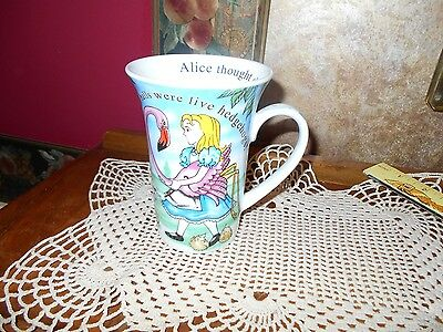 Paul Cardew Alice In Wonderland Cafe 14 Oz Coffee Tea Cappucino Latte Mug Cup