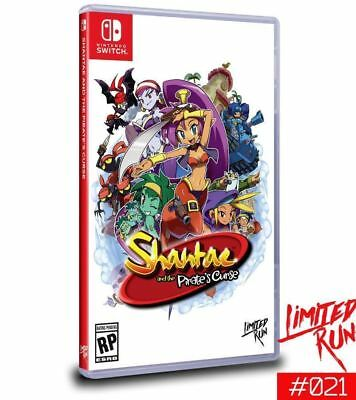 SWITCH LIMITED RUN #12: Shantae and the Pirate's Curse Preorder