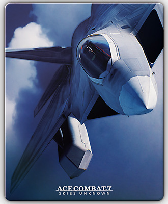 ACE COMBAT 7 SKIES UNKNOWN Collector's Edition PlayStation 4 Steel book Only