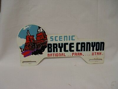 Scenic Bryce Canyon National Park Utah Souvenir License Plate Topper