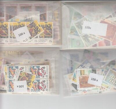 Australia postage stamps with gum face value $200  (2 stamp combo to make $1)ci