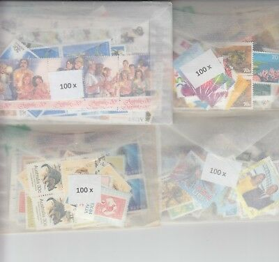 Australia postage stamps with gum face value $200  (2 stamp combo to make $1)cl