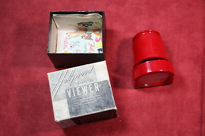 Hollywood Professional Viewer, 35mm Double Frame Slide Viewer with Box
