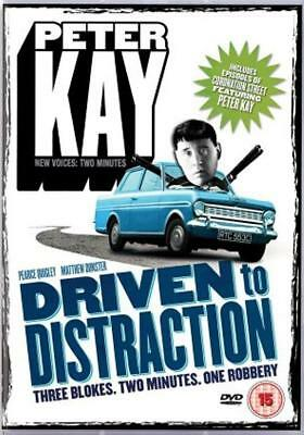 PETER KAY - DRIVEN TO DISTRACTION UK Comedy 2 Part TV Sitcom DVD *EXC*