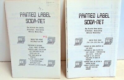 Painted Label Soda Net; Vol.3 no.2 June 1988, Vol.3 no.3 Oct/Nov 1988; ACL sodas