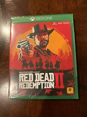 Red Dead Redemption 2 Xbox One Brand New
