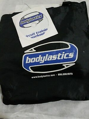 Bodylastics Resistance Bands Kit with DVD circuit training workouts Please Read