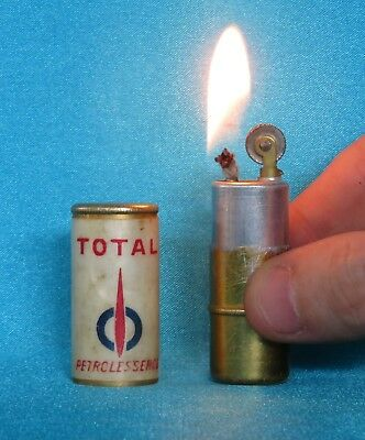 "Rare Collectable Vintage 194/50's Total ""Petrolessence"" Lipstick Lighter."