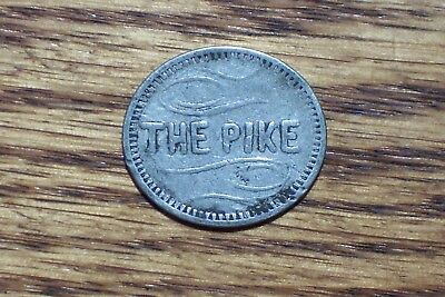 The Pike / Seattle Washington   5 c Older  Trade Token