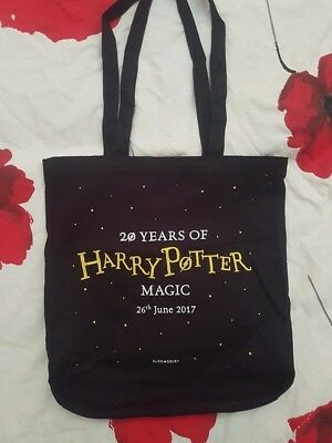 Harry Potter Cotton/Canvas Tote Bag (Limited Edition, 20th Anniversary)