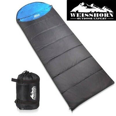 WEISSHORN Camping Sleeping Bag -10°C Hiking Thermal Carry Bag Tent Micro