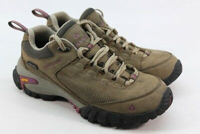 dc00ab14d59 VASQUE TALUS TREK Low UltraDry Women's Black Olive/Damson Hiking Shoes 7M