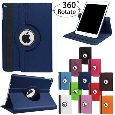 iPad Case Cover 9.7 360° Leather Magnetic Smart Stand Apple 4 3 2 mini Air 2 Pro