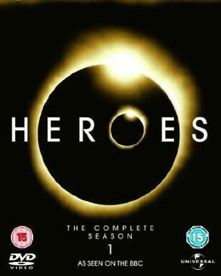 HEROES Complete Season 1 (One) Cult Sci-Fi USA TV Series 7 Disc DVD Set *EXC