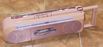 General Electric 'Sidestep' AM/FM Stereo Radio Cassette Recorder Boom Box GE ede