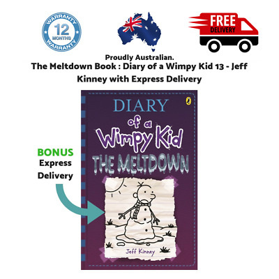 The Meltdown Book : Diary of a Wimpy Kid 13 - Jeff Kinney with Express Delivery