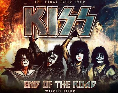 KISS | Melbourne | Reserved Seating Tickets | 21 Nov 2019 | 1st Show |