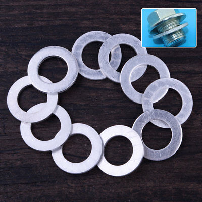 10pcs 14mm Engine Oil Drain Plug Washer Gasket 94109-14000 for Honda Acura
