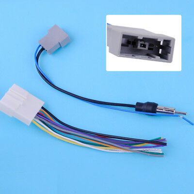 FOR NISSAN SUBARU DVDPlayer Radio Stereo Wire Harness Cable
