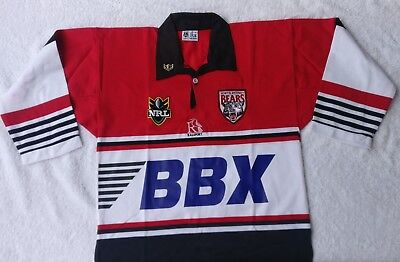 North Sydney Bears NRL 1990's Jersey RETRO