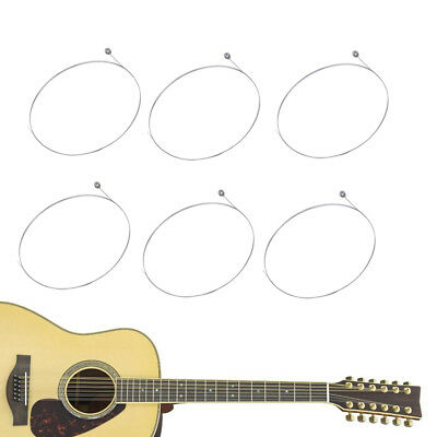 10pcs Single String for Acoustic 1st E-String Coated Steel A506 Electric Guitar