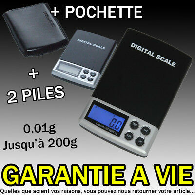 SCALE ELECTRONIC PRECISION POCKET 0.01 g 0.01 g gr in 200g 0.01 gr 0,01 gr