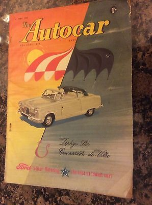 The Autocar Magazine 6th May 1955 Zephyr six