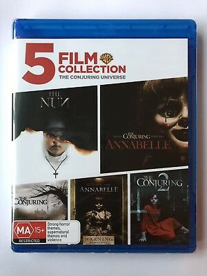 5 Film Collection: The Conjuring Universe (The Nun Blu Ray Movies New & Sealed