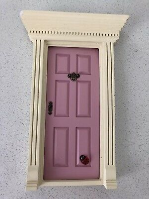 Pink Little Fairy Door. Gorgeous For Child's Room To Open Imagination.