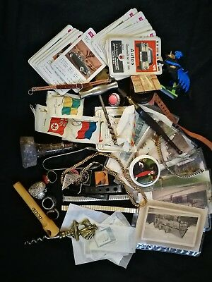 Vintage antique curios collectables job lot - assorted items