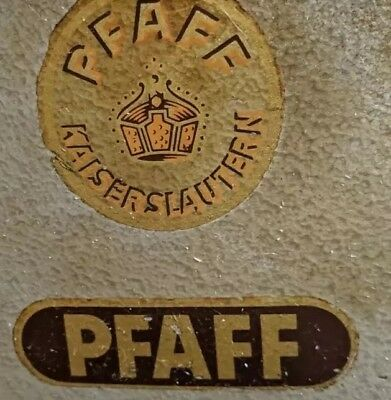 Antique Pfaff Industrial sewing machine 19663 Made in West Germany Pick up 3145