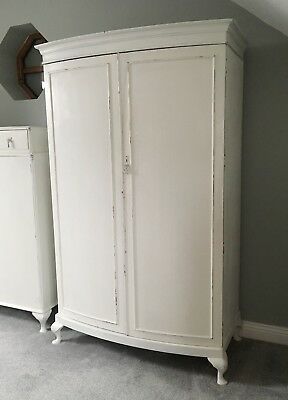 Vintage Painted Double Wardrobe