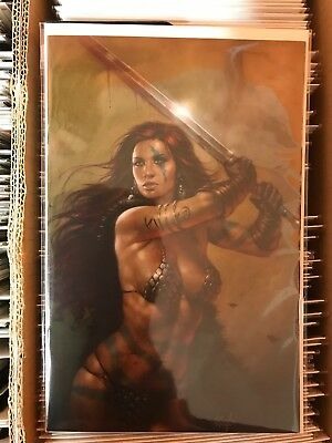 Red Sonja #20 NYCC Lucio Parillo Virgin Variant Limited To 500 Copies