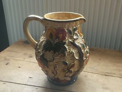Vintage H.j Wood Indian Tree Jug