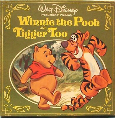 Walt Disney 'Winnie the Pooh and Tigger Too' Super 8mm Film Colour Sound 200ft