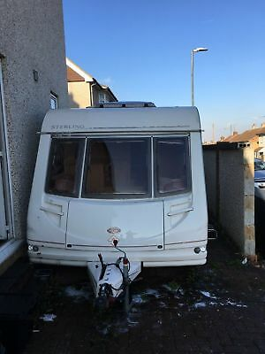 Sterling Eccles Onyx 4 Berth Fixed Bed